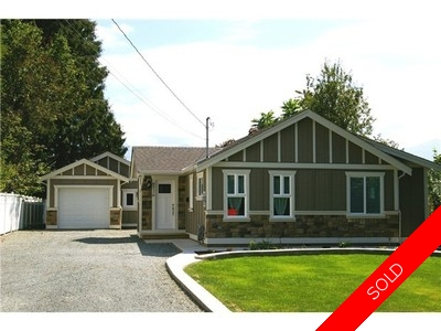Chilliwack House for sale:  3 bedroom  (Listed 2016-05-05)